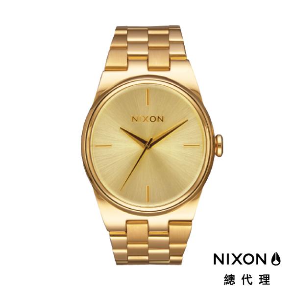 【官方旗艦店】NIXON IDOL 時尚橢圓錶型 金 潮人裝備 潮人態度 禮物首選