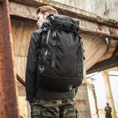 登山包旅行背包登山包戶外休閒大容量旅游行李包女-黑色地帶zone