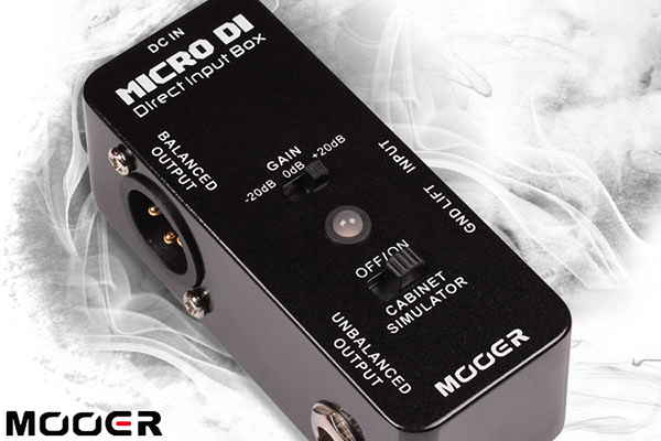 小叮噹的店 - MOOER DI盒 MICRO DI Direct Input BOX (MREG-DI)