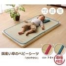 【日本製】日本製 草蓆午睡墊 抗菌防臭 無加工 藍 SD-1256 -