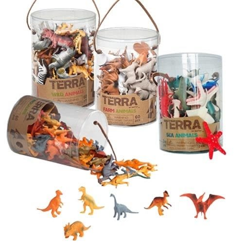 B.TOYS【TERRA 感統玩具模型玩具 農場動物/海洋生物/恐龍/野生動物(3Y)】戲水玩沙.角色扮演