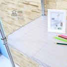 【品樂生活】層架專用PP板35X60CM-透明白1入/層架配件/防掉板/鞋架/行李箱架/衛生紙架/鞋櫃