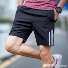 短褲男運動褲寬鬆休閒大褲衩夏季沙灘褲男士五分褲子大碼沙灘褲潮 檸檬衣舍