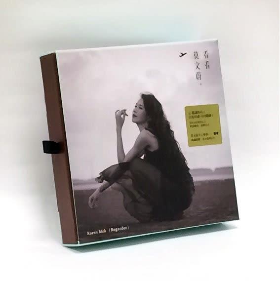 莫文蔚 看看 Regardez限量精裝紙盒盤 EP CD(購潮8)