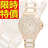 陶瓷錶-亮麗可愛流行女腕錶1色55j25【時尚巴黎】