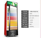 勁福展示櫃冷藏櫃立式商用冰櫃冰箱啤酒飲品保鮮櫃雙門單門飲料櫃igo 時尚潮流