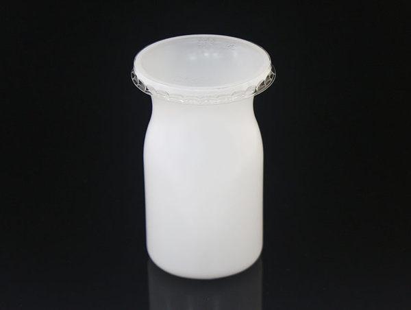 10入 140cc 大牛奶瓶布丁杯 保羅瓶 附蓋  DD37