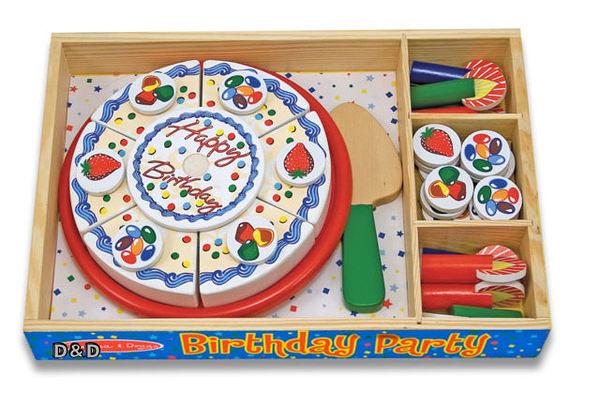 免運費《 美國 Melissa & Doug 》玩食趣 - 生日派對╭★ JOYBUS歡樂寶貝