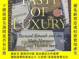 二手書博民逛書店The罕見taste of luxury Louis Vuitt