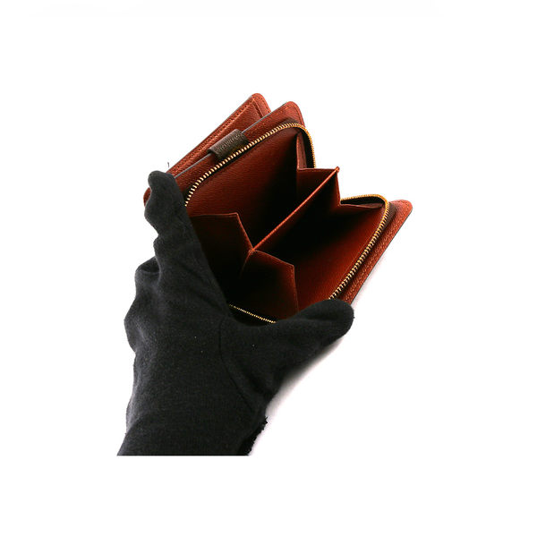 【LV】 Monogram 拉鍊零錢袋短夾 M61667