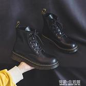 英倫風馬丁靴女靴秋冬季百搭年新款潮ins韓版棉鞋加絨短靴子 雙十二全館免運
