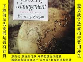 二手書博民逛書店Global罕見Marketing Management(全球營