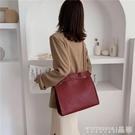 手提包 高級感小ck婚包女新娘紅色包包大容量結婚包手提側背婚禮 晶彩 99免運