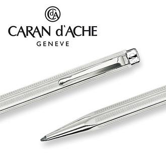 CARAN d'ACHE 瑞士卡達 ECRIDOR 艾可朵傳統麥紋原子筆(包銀) / 支
