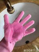 寵物洗澡手套搓澡刷粘毛器除毛刷硅膠刷防水防咬防抓 moon衣櫥