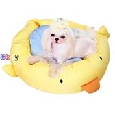 【貝貝】寵物窩 卡通狗窩 可拆洗窩 通用窩 床墊 貓窩