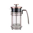 手衝咖啡壺 法壓壺不鏽鋼家用法式衝茶器濾壓壺玻璃過濾杯泡茶壺