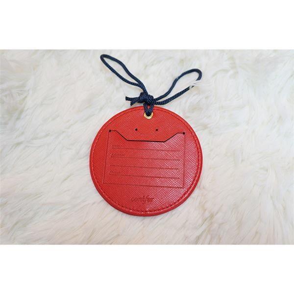《Cuir》吊牌鏡/紅【綠的事務】