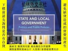 二手書博民逛書店【罕見】State And Local GovernmentY27248 David Saffell; Har