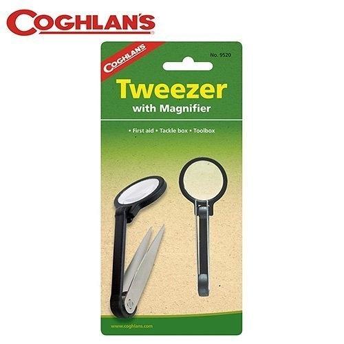 丹大戶外【Coghlans】加拿大 TWEEZER/MAGNIFIER 鑷子放大鏡 9520