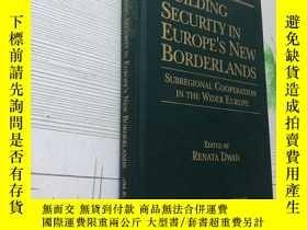 二手書博民逛書店BUILDING罕見SECURITY IN EUROPE S N