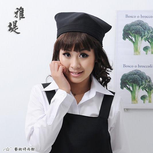 【T-01C】日式工作頭巾(黑色)-餐廳 廚房 園藝 工作業務專用