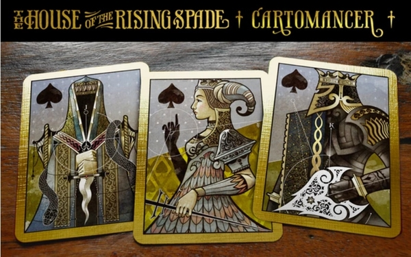 【USPCC撲克】Cartomancer Variant - The House of the Rising Spade S103049291