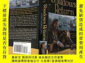 二手書博民逛書店SHADOWS罕見RETURN 陰影返回(英文原版)Y19992