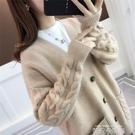 2020春季新款針織開衫女寬鬆韓版麻花百搭慵懶風很仙的毛衣外套潮 依凡卡時尚