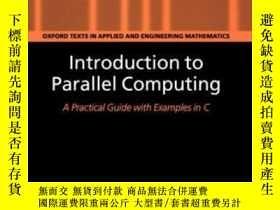 二手書博民逛書店Introduction罕見To Parallel ComputingY255562 W. P. Peters