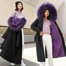 加厚冬季上衣潮流 夾克外套加絨休閒 中長款棉服女生外套 棉襖女士外套 韓版外套羽絨外套