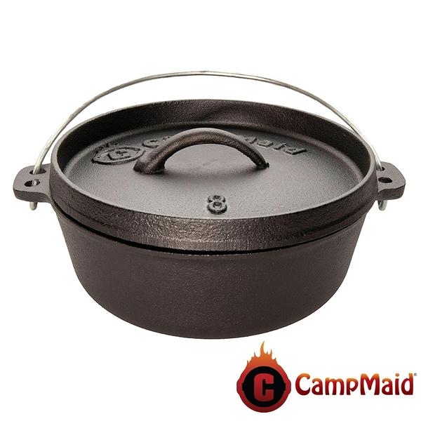 【Camp Maid】8吋荷蘭鍋 DO-8 燒烤.中秋烤肉.火種.露營.戶外.荷蘭鍋.野炊