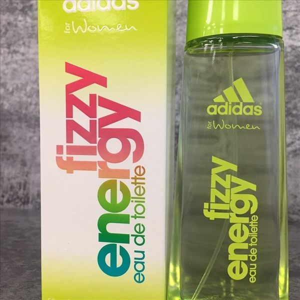 Adidas FIZZY ENERGY 愛迪達 泡沫能量 運動 女性淡香水 50ML◐香水綁馬尾◐
