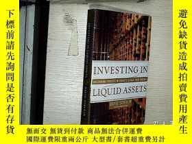 二手書博民逛書店INVESTING罕見IN LIQUID ASSETS 投資流動