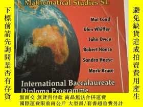 二手書博民逛書店Mathematical罕見Studies - Standard Level: International Bac