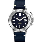 GIORGIO FEDON 1919 海藍寶石系列機械錶-藍色/45mm GFCL004