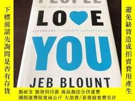 二手書博民逛書店People罕見Love You: The Real Secre