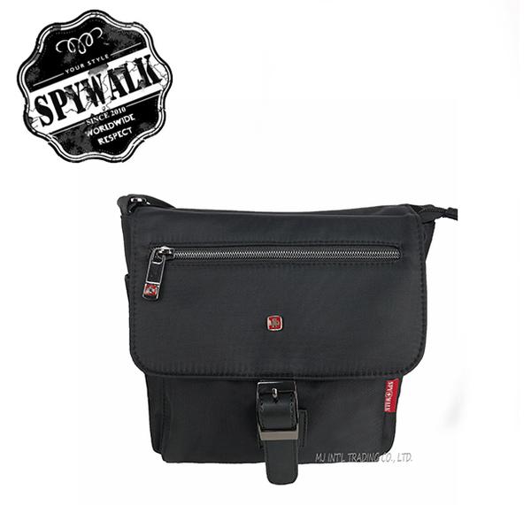 側背包 SPYWALK休閒風紅十字尼龍磁扣側背包NO:S8047