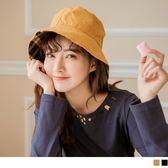 《ZC1215》文青感雙面漁夫帽 OrangeBear