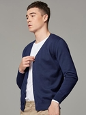 墨麥客男裝春秋季針織開衫男薄款韓版毛衣男士針織衫外套寬鬆潮流