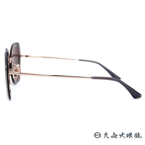 HELEN KELLER 林志玲代言 H8820 N23 (透深灰-玫瑰金) 鑽石晶格 偏光太陽眼鏡 久必大眼鏡