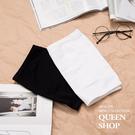 Queen Shop【01041425】無縫平口小可愛 長短版兩色售 特價*預購*