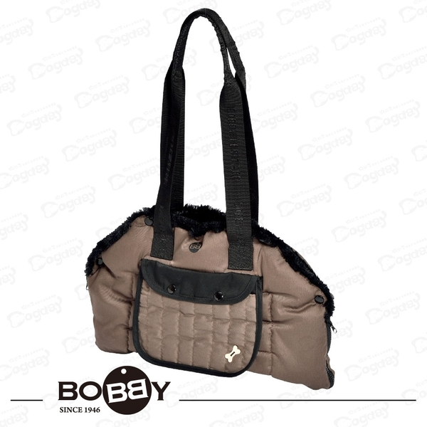 法國《BOBBY》美床提袋 寵物外出袋 馬爾濟斯/雪納瑞/臘腸/傑克羅素 寵物背包 睡墊