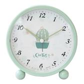 鬧鐘—小鬧鐘創意學生少女臥室床頭可愛兒童卡通靜音鐘錶學生用現代簡約 依夏嚴選