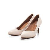 【Fair Lady】Soft芯太軟 波紋斜口修飾尖頭高跟鞋 粉