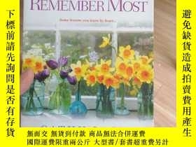 二手書博民逛書店what罕見I remember mostY24487
