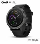 現貨【GARMIN】 手錶 VIVO Active3 尊爵黑 GPS 智慧腕錶 (台灣公司貨)