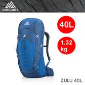【速捷戶外】美國GREGORY 111590 ZULU 40 男款輕量網架式健行登山背包(帝國藍)  ,2019新款