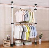 衣櫃簡易布藝鋼架加固現代簡約掛多功能衣帽間 不帶窗簾 潮流小鋪