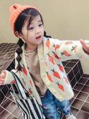 女童毛衣 童裝女童秋季新款韓版毛衣外套秋裝寶寶針織開衫秋卡通上衣 俏腳丫